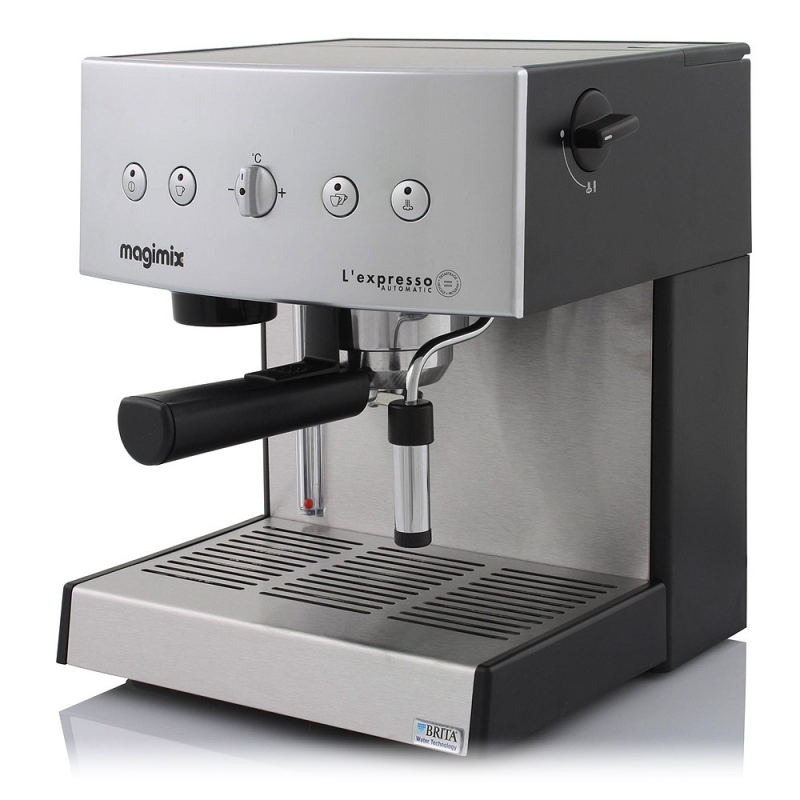 Machine caf expresso automatic 19 bars argent magimix 11414 - Machine cafe expresso ...
