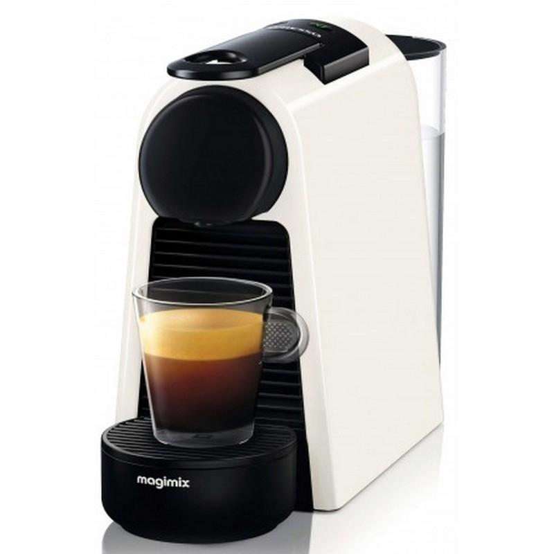 cafeti re nespresso magimix essenza mini blanche. Black Bedroom Furniture Sets. Home Design Ideas
