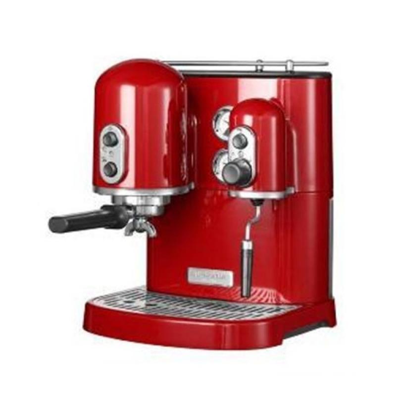 machine expresso kitchenaid rouge. Black Bedroom Furniture Sets. Home Design Ideas