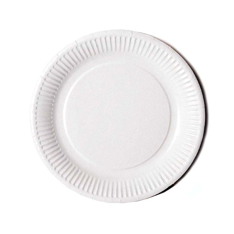 Assiette en carton jetable blanc - Assiette secret de gourmet ...
