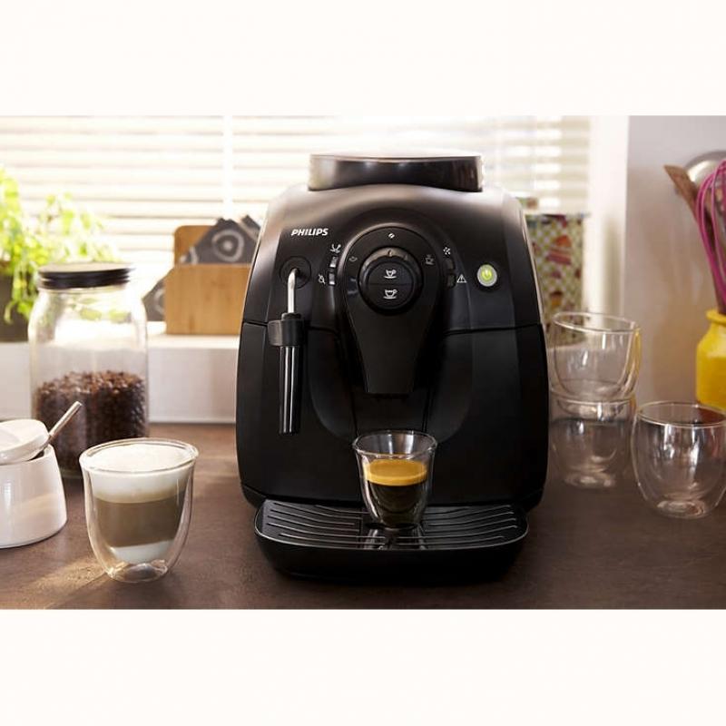 machine caf automatique vapore philips noir hd8651 01. Black Bedroom Furniture Sets. Home Design Ideas
