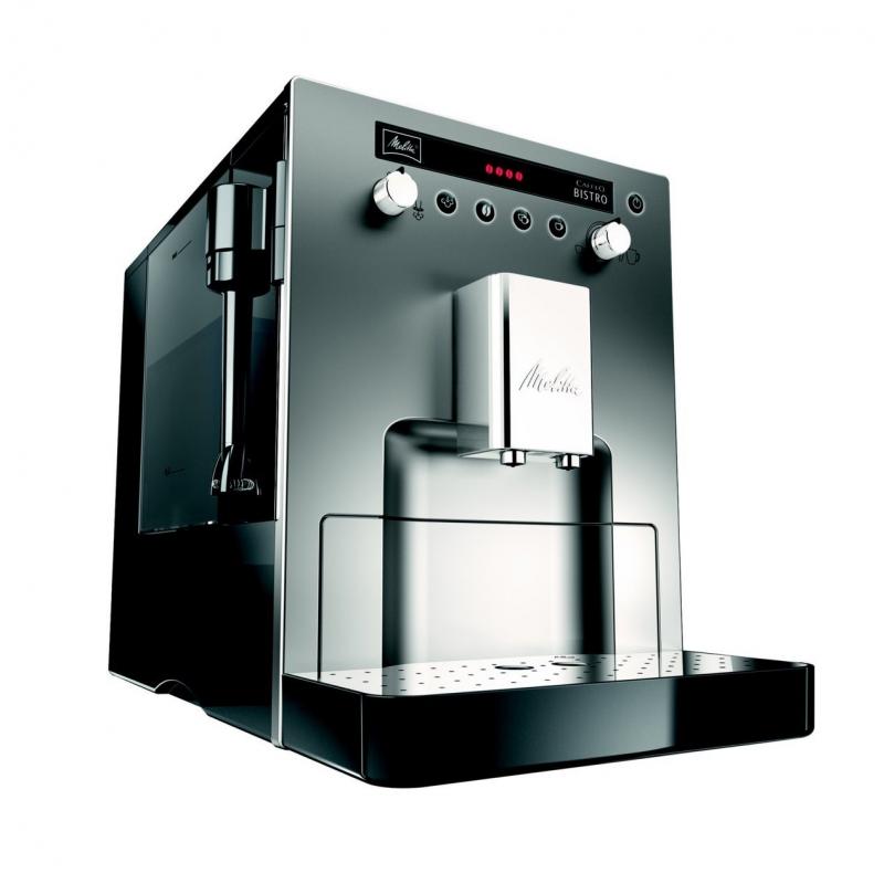 machine caf expresso caffeo bistro erp argent et noir. Black Bedroom Furniture Sets. Home Design Ideas