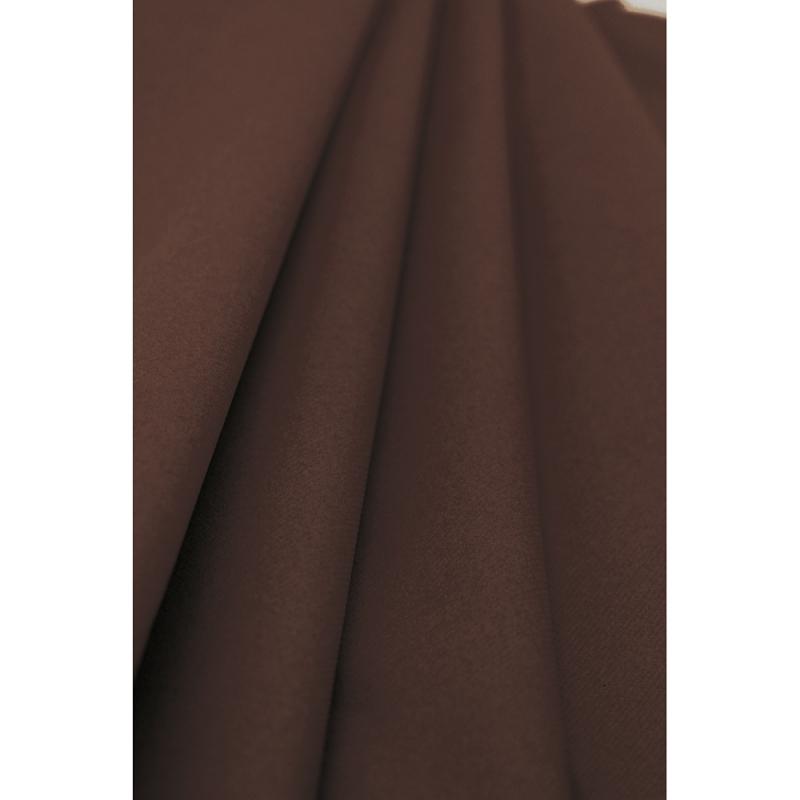 Nappe chocolat en papier. Rouleau 1.2x10 m. Qualité supérieure.