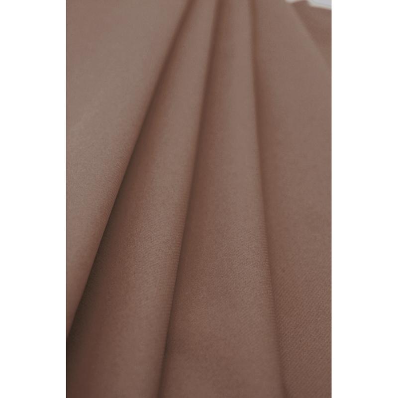 Nappe taupe en papier. Rouleau 1.2x10 m. Qualité supérieure.